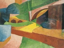 Morton Shamberg, untitled-landscape-with-bridge