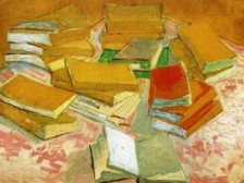 Vincent van Gogh, still-life-french-novels